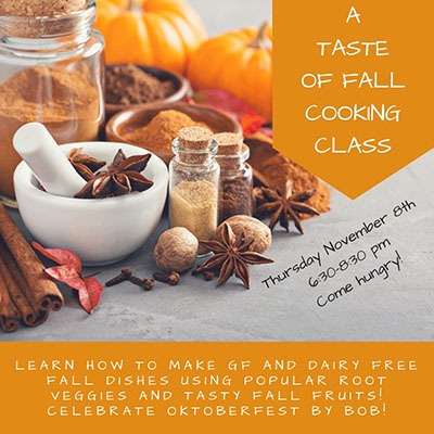 Taste Of Fall Cooking Class