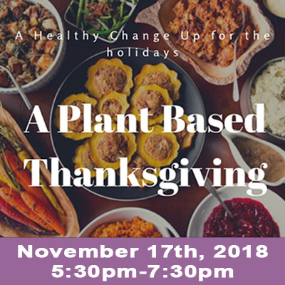 Thanksgiving Cooking Class